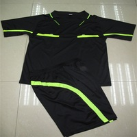 Soccer Sets Soccer Jersey The Football Referee Suit
