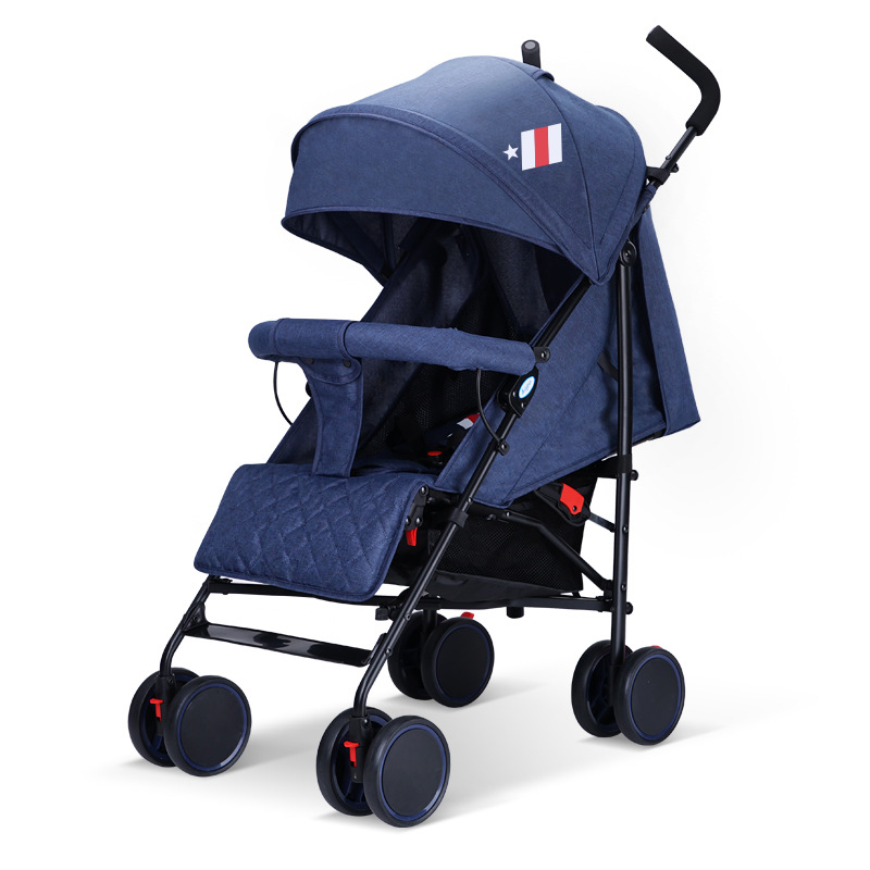 MO YA stroller light portable folding can sit reclining simple European trolley bb baby mini umbrella car winter STC-02 mo english forest dd bb