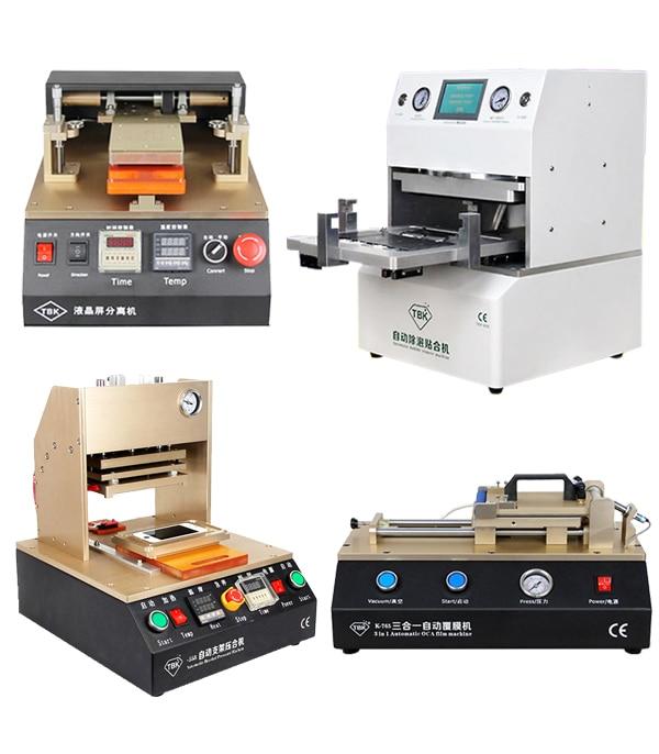 лучшая цена 2016 TBK Automate Full Kit LCD Refurbish Machine LCD Repair MachineOCA Vacuum Laminating machine+LCD Separator Machine
