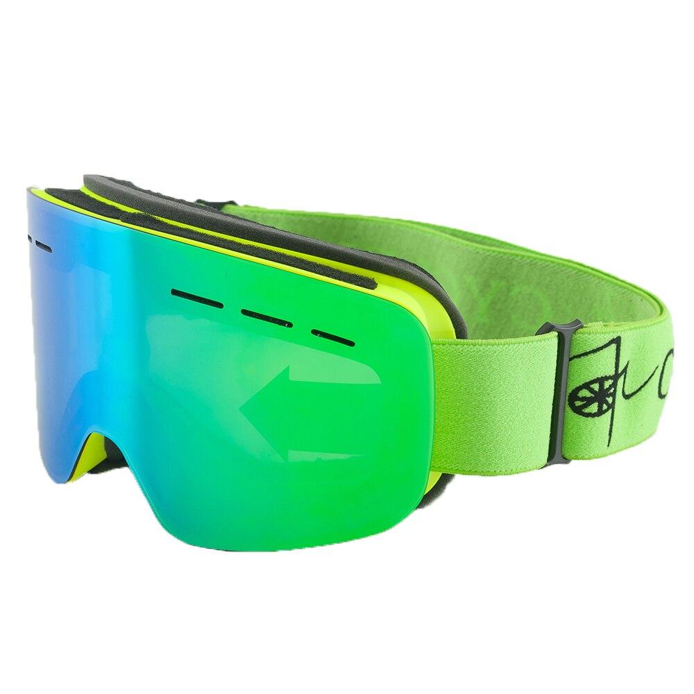 2018 Winter Snow Ski Goggles Snowmobile Eyewear Ski Googles Snowboarding Equipment Ski Glasses Skibrille Males Ladies Snowboard Goggles