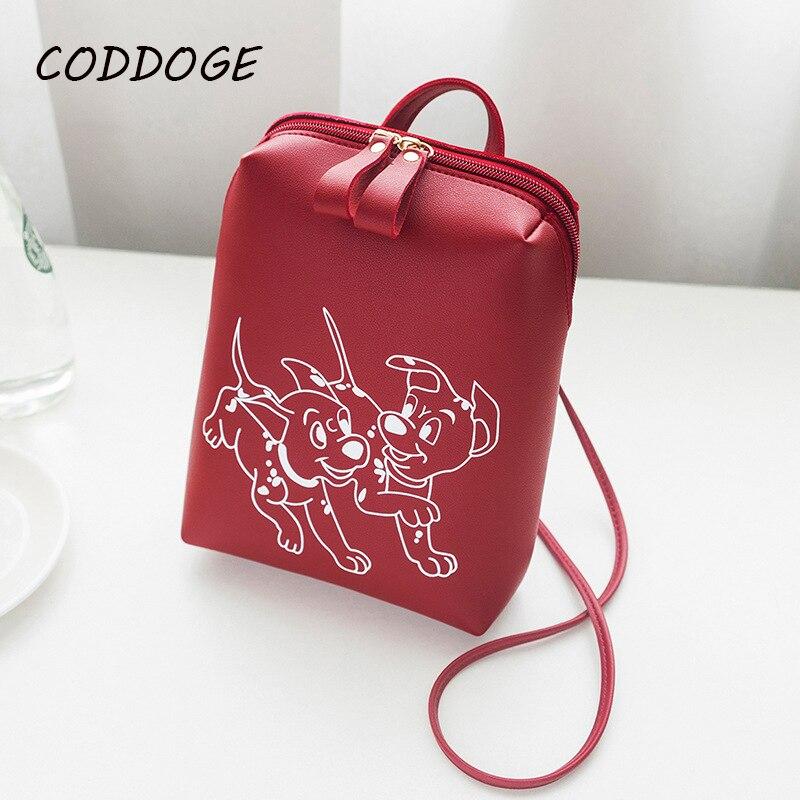 CODDOGE Hot 2018 Cute Puppy Backpack For Teenagers Children Mini Back Pack Kawaii Girls Kids Small Backpacks Feminine Packbags