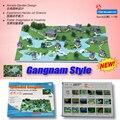 Splendid Gongnan Gongnam Estilo Chinês Antigo Jardim DIY Modelo de Construção