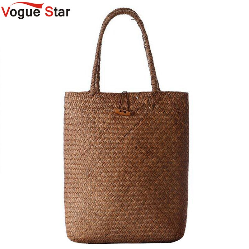 Vogue Star 2018 Summer Design Women Handbags Straw Women Messenger Bags Beach Bag Large Capacity Tote Shoulder Bag LA56 beach straw bags women appliques beach bag snakeskin handbags summer 2017 vintage python pattern crossbody bag