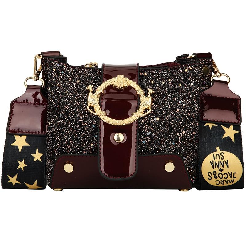 Women Patchwork Handbag Crossbody Bag Soft Leather Square Casual Ladies Chain Shoulder Girl Chain Messenger Satchel Bag louis 2