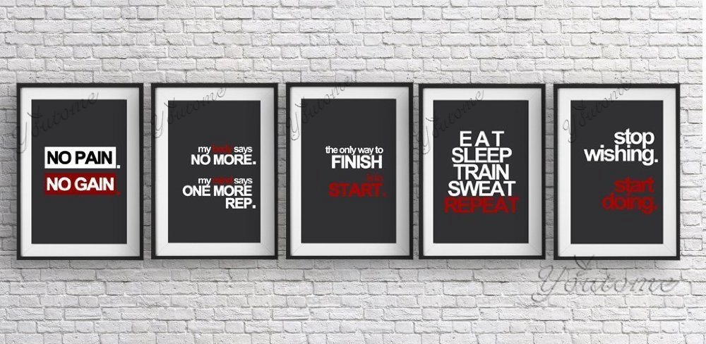 Motivational gym posters reviews online shopping
