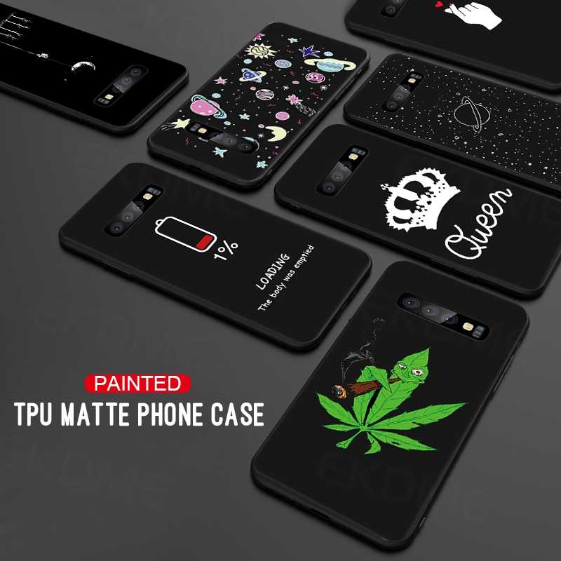 Soft Silicone Phone Case Cover For Samsung Galaxy S10 Plus S10e A8 A8+ A6 Plus A9 A7 2018 J3 J7 J8 2018 J4 J6 Plus EU TPU Case