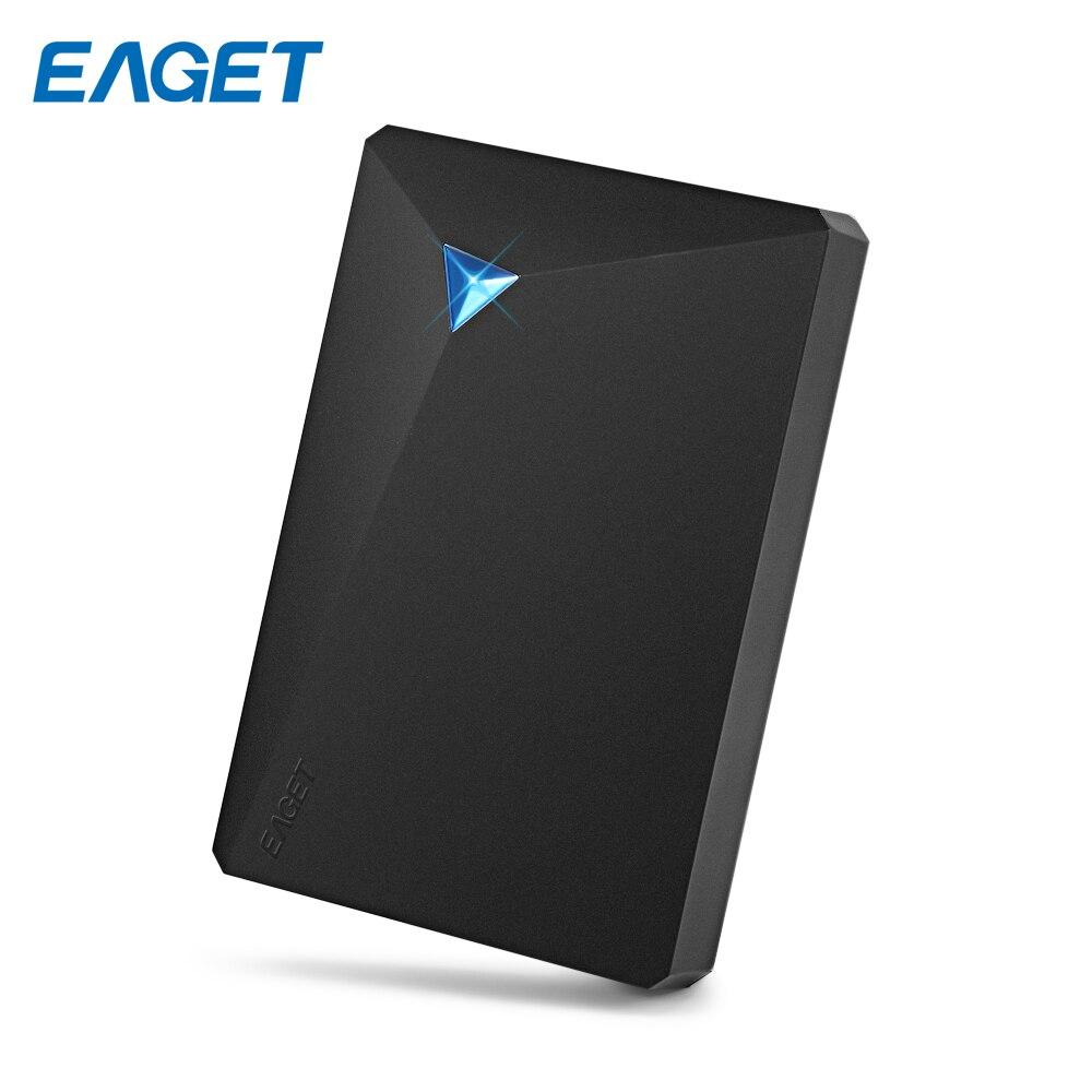 Eaget G20 Externe Disque Dur 3 tb/2 tb/1 tb/500 gb USB 3.0 Antichoc HDD 2.5 Portable Disque Dur 1 tb Disque pour Ordinateur Portable