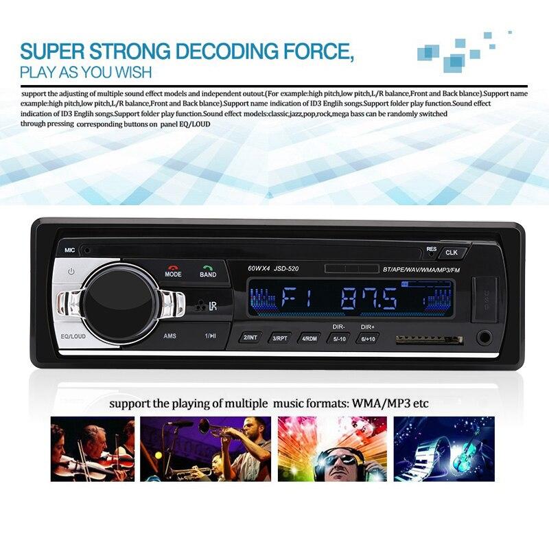 MP3 Control JSD520 Kelebihan