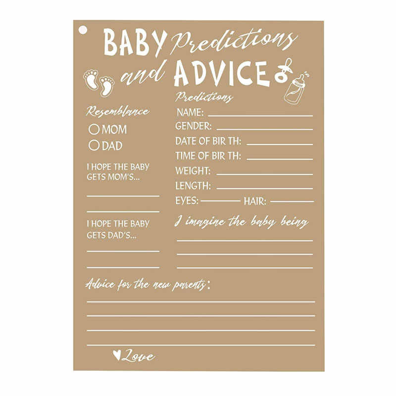 50 Rustic Baby Shower Cards Advice