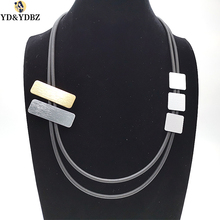 YD&YDBZ 2019 Fashion Necklace Jewelry For Women Geometric Pendant Necklaces Long Collar Chains Sweater Dress Accessories Gothic