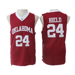 ce4008fad616 Buddy Hield Jersey Commemorative Sport Shirt All stitched 24 Oklahoma OU  Basketball