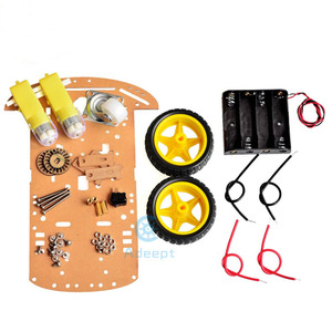 Image 3 - Adeept умный моторный робот, автомобильный аккумуляторный ящик, комплект шасси, датчик скорости для Arduino, бесплатная доставка, diykit diy