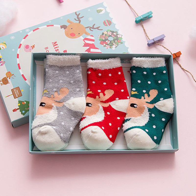 Popular Baby Christmas Sock-Buy Cheap Baby Christmas Sock lots ...