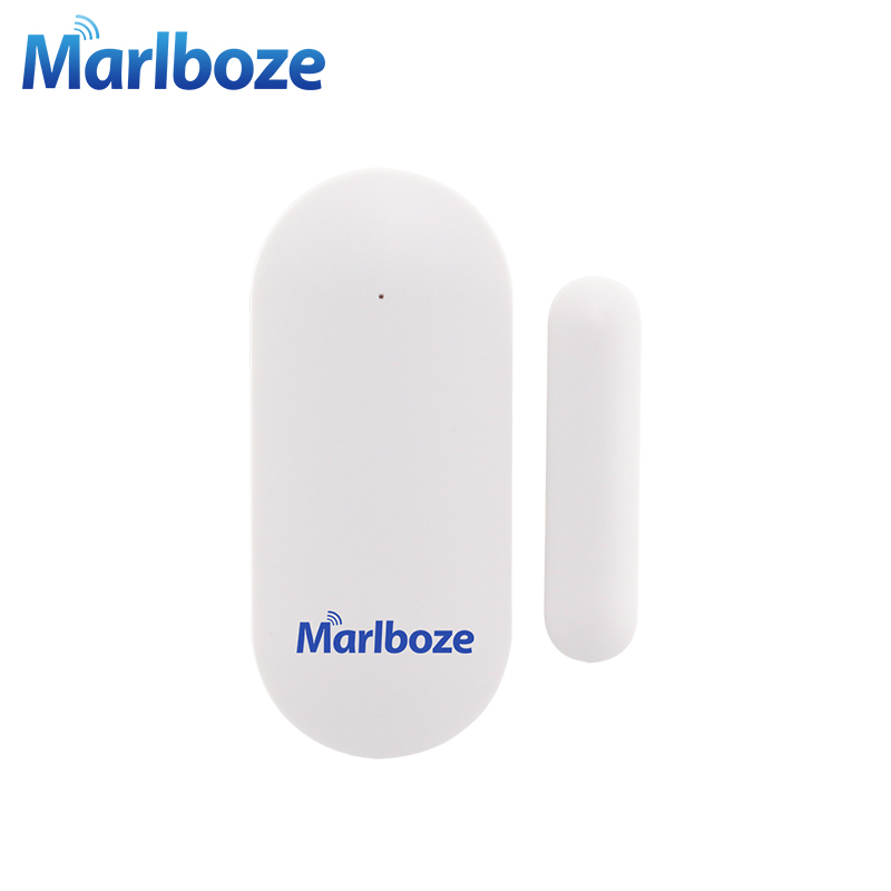 Marlboze Wireless 433MHZ Door Window Security Smart Gap Sensor for Our PG163 Home Security Alarm system цена
