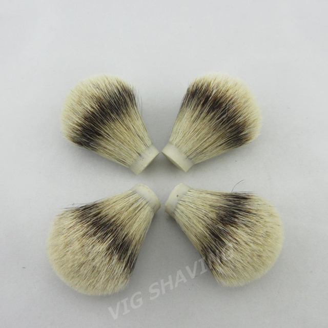 20/65mm wholesale 20pcs/lot SilverTip Badger hair Shave Brush Knot