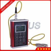 Cpad T210 Digital Coating Thickness Tester with Digital Car Paint Coating Thickness Gauge Measurement 0~1250um Range N1 Probe