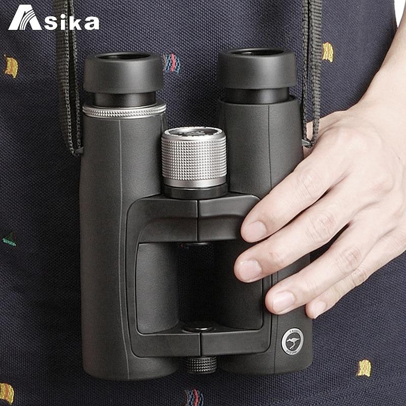 Asika Powerful Binoculars 8X42 Professional HD Telescope Quality Wide-angle Nitrogen waterproof binocular ED high index glass недорого