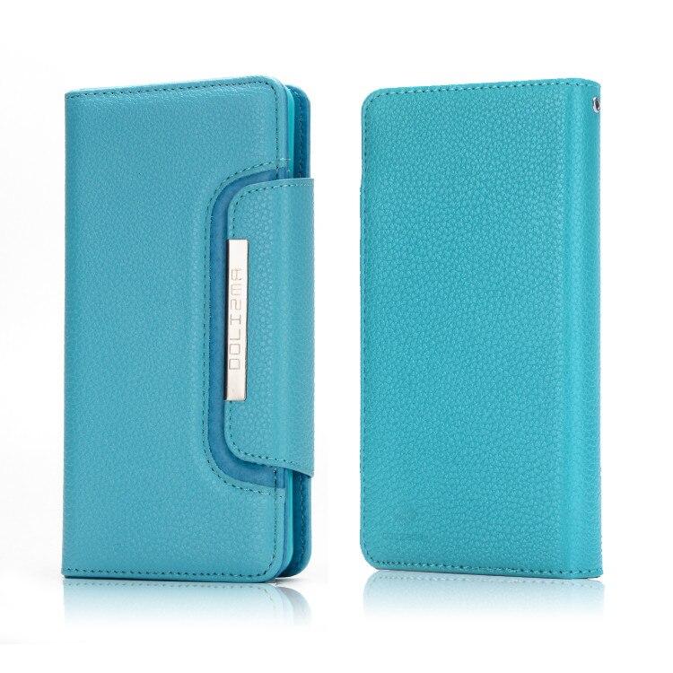 Для iPhone 6 Чехол роскошные Съемная Кожа + Мягкий силиконовый кошелек Флип Назад телефона чехол для iPhone 5 5S 5SE 6 s 7 плюс Чехол
