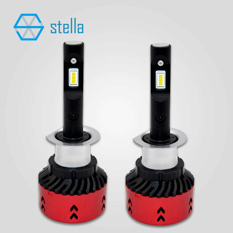 Car styling H1 canbus led bulb LED head lamp headlight foglights decoder built in powerful upgraded