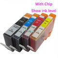 4pcs for HP 178 HP178 Compatible ink cartridge For hp photosmart 5510 5515 6510 7510 3520 hp6510 B109a B110a B210b 3070A printer