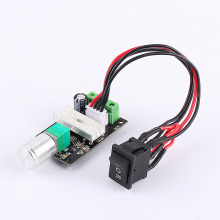 PWM Motor Speed Control Reversible Switch Regulator DC 6V 12V 24V 3A Governor pwm dc 6v 12v 24v 28v 3a motor speed control switch controller