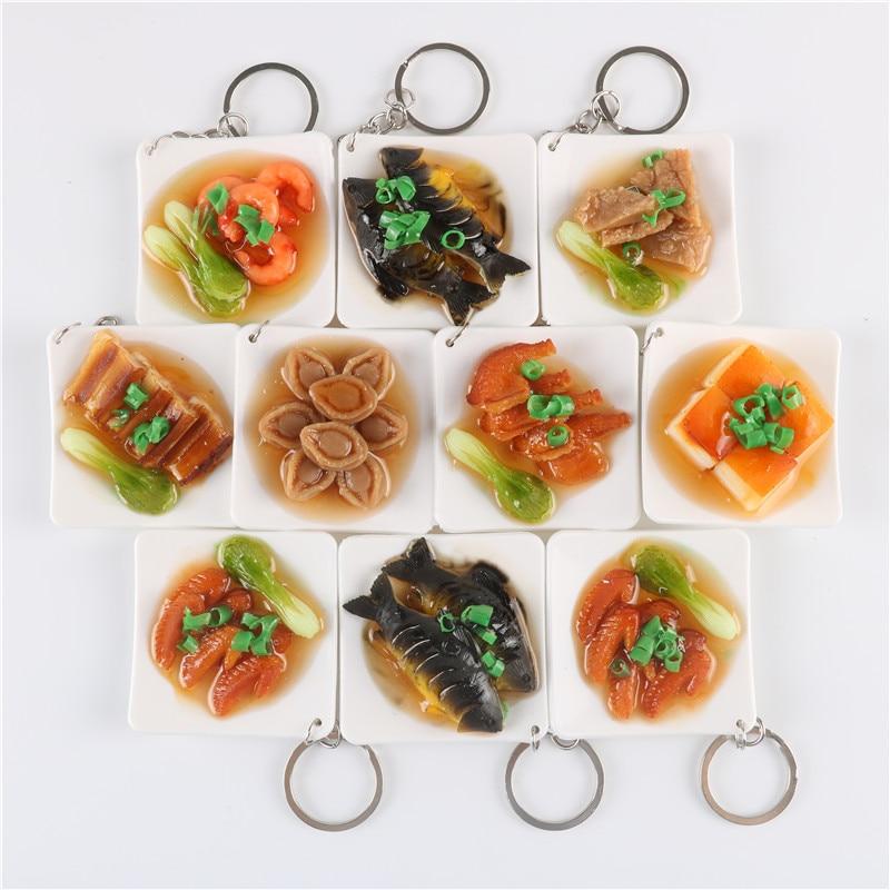 20pcs/set 3cm PVC Kitchen Toys Simulation Food Miniature Chinese ...