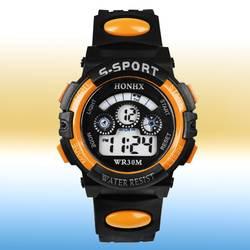 Спортивные цифровые часы для мальчиков и девочек, модные наручные часы с календарем, студенческие часы