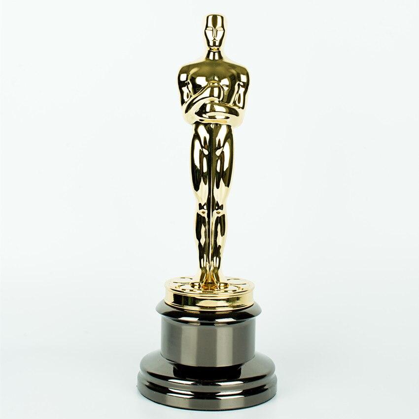 Replica Oscar Awards Metal Oscar Trophy 24k gold plated Oscar trophy awards Oscar Trophy