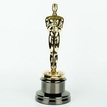 Реплика Оскар, металла Оскар трофей, 24 К с позолотой Оскар трофей награды, Оскар трофей