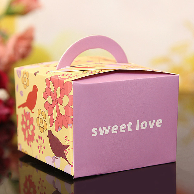 US $2 12 44% OFF|CAMMITEVER Candy Box Love Party Supplies Cheap Valentine's  Day Decor Gift Party Sweet Love Boxes Flower S M 2 Size-in Gift Bags &