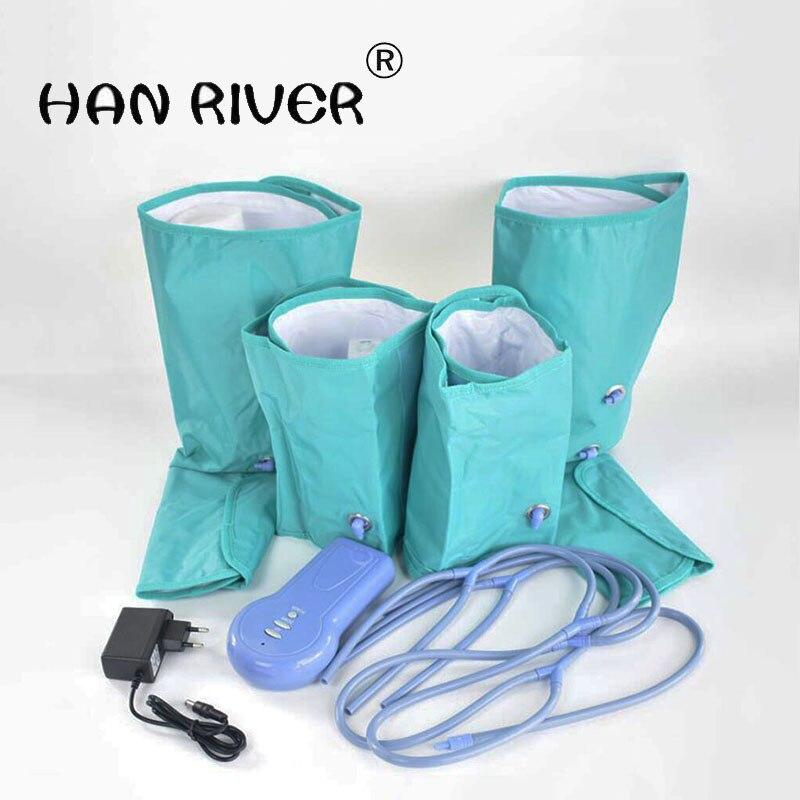 Aire prensa pierna masajeador de pies a casa de compresión de aire de circulación masajeador alivio cansado aliviar dolor muscular 110 V-220 V