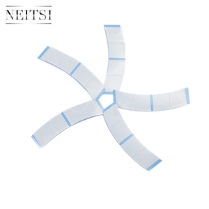 Image 3 - Neitsi 36*2 Tabs/lot Strong Blue Minis Ultra Hold Double Sided Tape Tabs For Toupees/Lace Wigs/Tape Extension Wig Adhesive Tape
