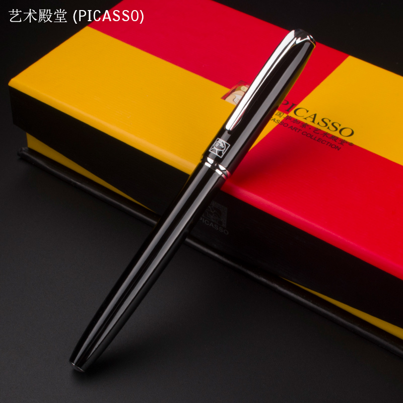 1pc/lot Wholesales Picasso 916 Roller Ball Pen 7 Colors Art Palace Brand Pen Ball Pens Writing Supplies  .not box art palace picasso brand black metal roller ball pen stationery school office supplies luxury writing birthday gift ball pens