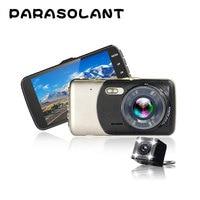 PARASOLANT 4 0 Inch IPS Screen Car DVR Car Camera Full HD 1080P Video 170 Degree