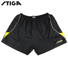 STIGA мужские шорты для настольного тенниса, быстросохнущие спортивные шорты для пинг-понга, Мужская одежда, спортивные футболки для мужчин