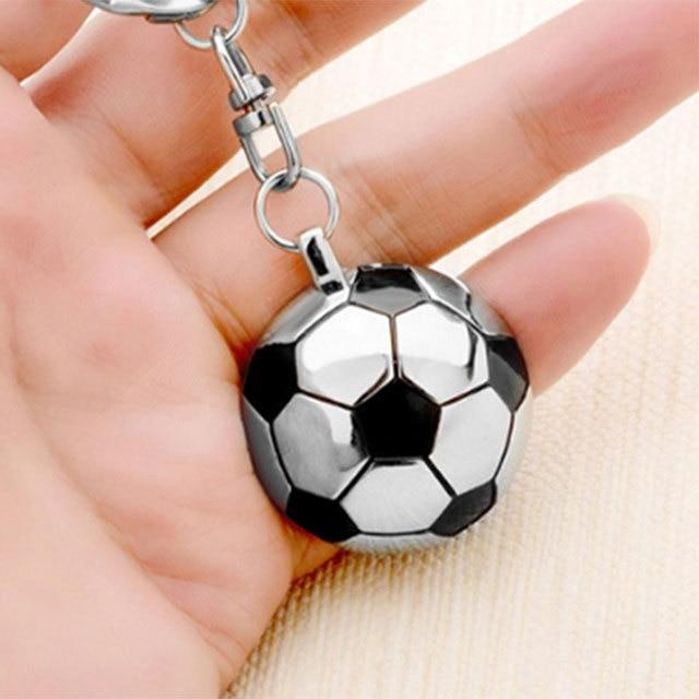Football Keychain Stainless Steel