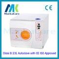 23l autoclave orange europa b clase médica equipo de laboratorio dental autoclave esterilizador de vapor al vacío con ce e iso alta calidad