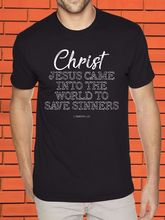 Save Sinners Jesus Christ Faith Praise Religious Spiritual Christian God T Shirt  Free shipping Tops Fashion Classic Unique gift cross t shirt religious religion swag jesus god christian faith bnwt gothicfree shipping tops t shirt