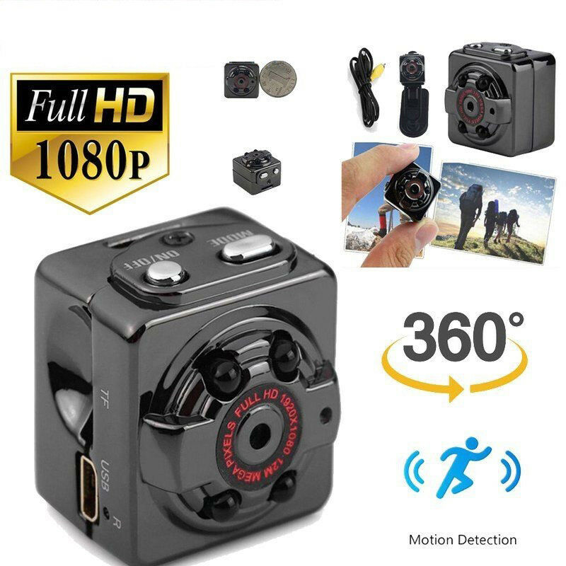 32G Card+Mini 1080P FULL HD Camera Night Vision Motion Detection Video Cam32G Card+Mini 1080P FULL HD Camera Night Vision Motion Detection Video Cam