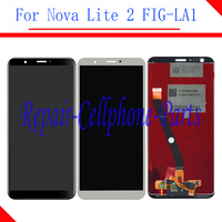 Original 5.65 inch Full LCD display + Touch screen digitizer assembly For Huawei Nova Lite 2 FIG LA1 ( not for Nova lite )