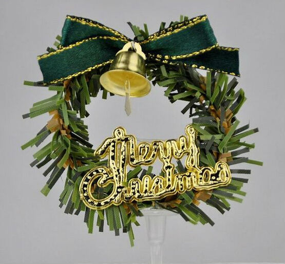 Express free shipping Christmas flower garland wreath decoration ...