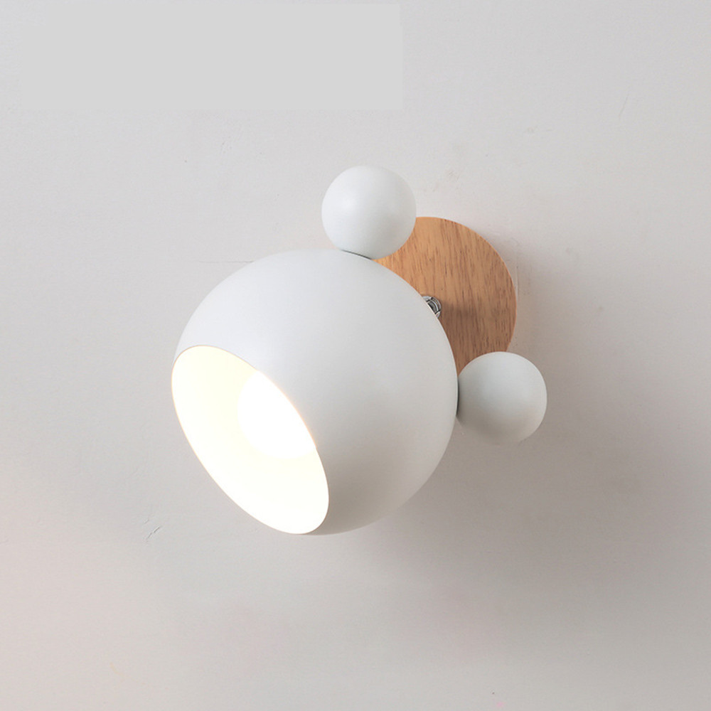 Nordic Bedroom Bedside Lamp Wall Lamp Simple Modern Aisle Corridor Hotel Background Wall Lamp Creative LED LampNordic Bedroom Bedside Lamp Wall Lamp Simple Modern Aisle Corridor Hotel Background Wall Lamp Creative LED Lamp