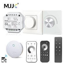 Triac LED Dimmer 220V 230V 110V AC 2.4G Wireless RF Remote Controller Smart Wifi for Single Color Dimmable Bulb Lamp