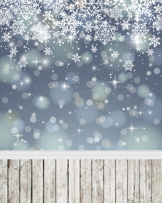 Fantasy Sparkle Silver Snow Flakes 5x7ft Christmas Photo Studio Props Vinyl Backgrounds Photography Backdrops виктория угрюмова серия азбука fantasy русская fantasy комплект из 7 книг