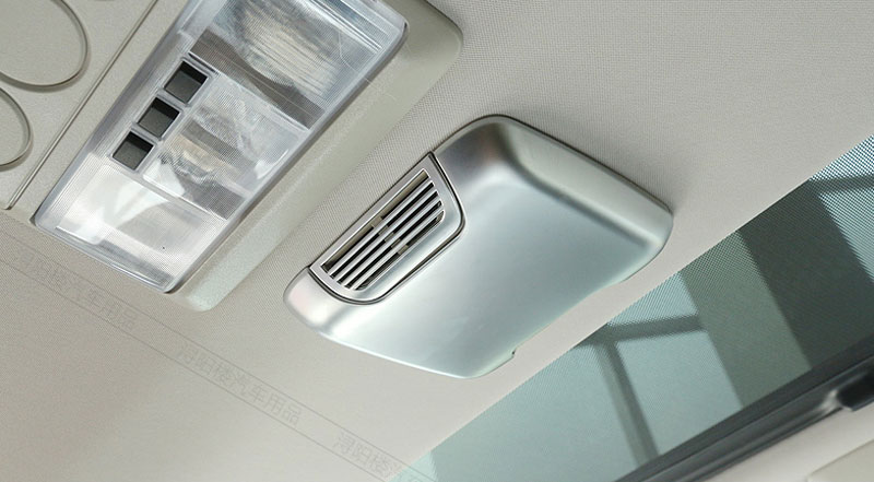 For Land Rover Discovery 3 4 LR4 2009 2016 Car ABS Matte Chrome Interior Car Roof Air Conditioning Vent Outlet Cover Trim|roof vent cover|ac vents|car ac vents - title=