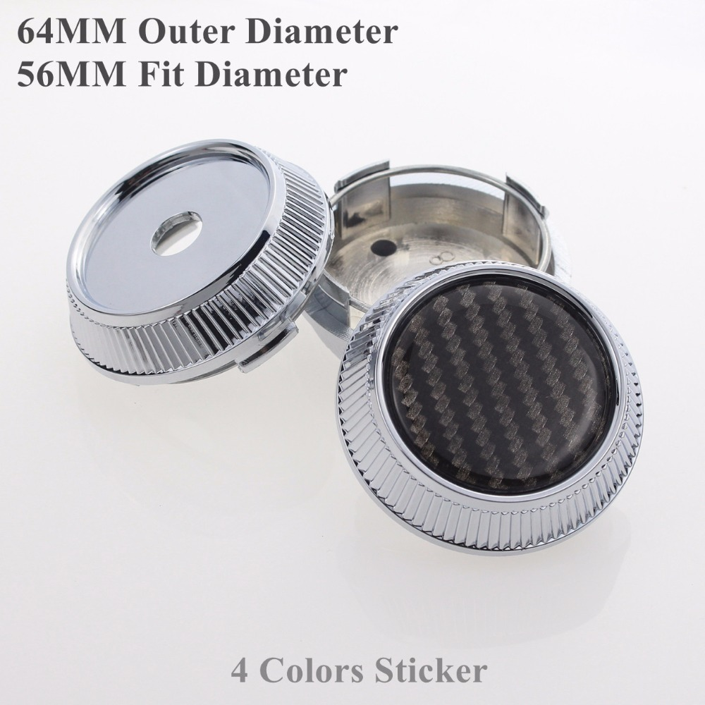 64MM Cap For Rim wheel Center Cap With Blank Sticker Without Logo SET OF 4 KOM POWER