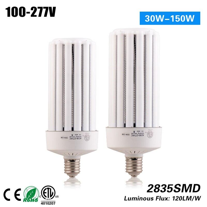 ETL Approved E26 E39 120W LED Corn Lamp for Srteet Lighting