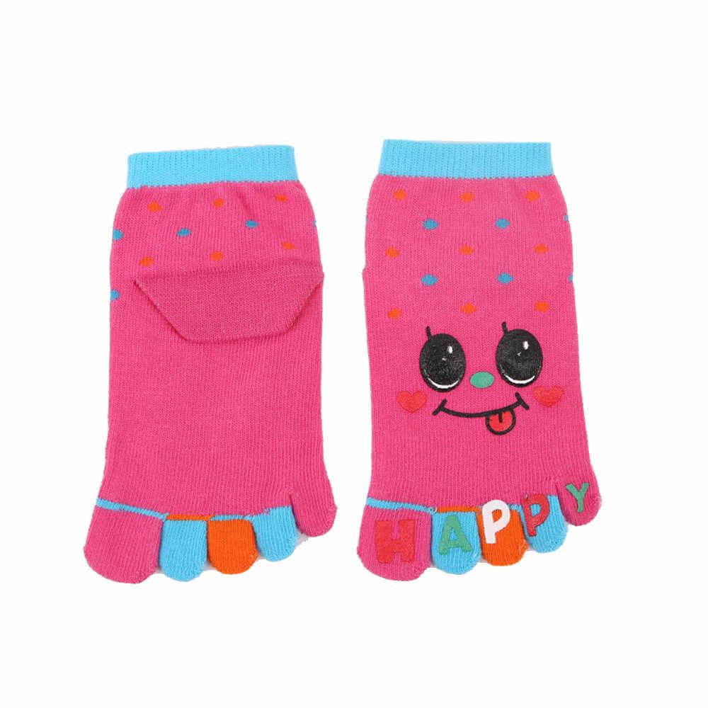 LONSANT стильная футболка с изображением персонажей видеоигр носок с пятью пальцами детские носки с изображением животных для девочек и мальчиков детские носки с пальцами, Нескользящие хлопковые носки для ног в новом дизайне