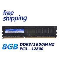 工場デスクトップ ddr3 8 ギガバイト ddr3 8 グラム ram 1600 フル互換性すべてのマザーボードとオリジナルチップ送料無料