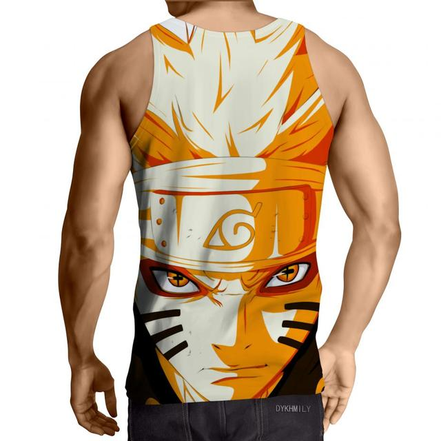 Naruto 3D Fitness Gym Tank Top